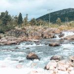 Bilde av elven Otra på Hovden i Setesdal.